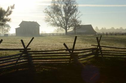 Hart Farm house and barn