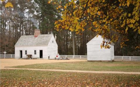 Tudor Hall Plantation - kitchen quarters