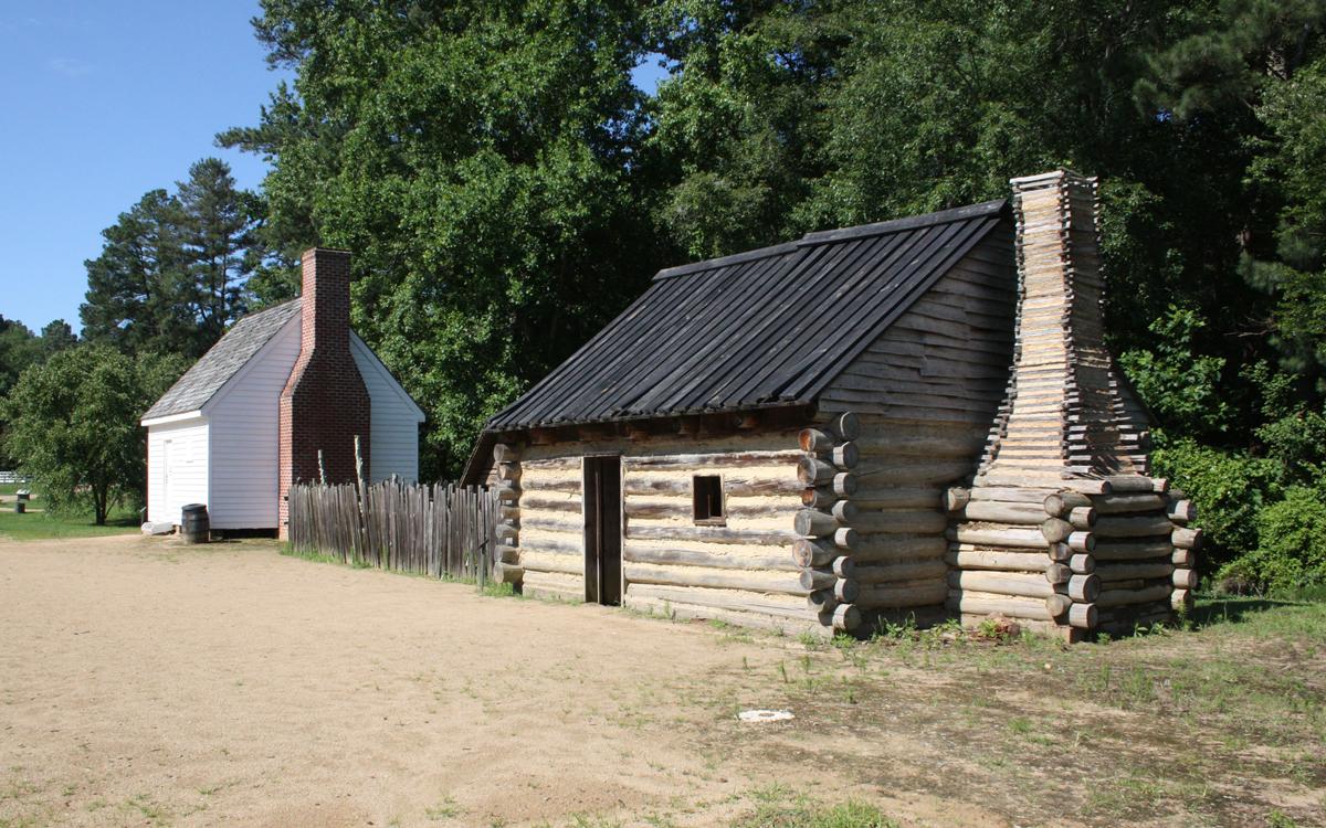 Tudor Hall Plantation - field quarter