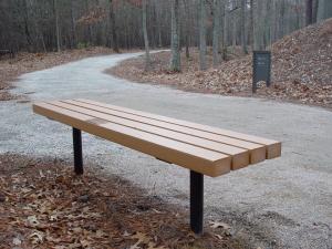 Park bench dedication