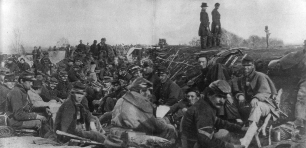 Petersburg trenches