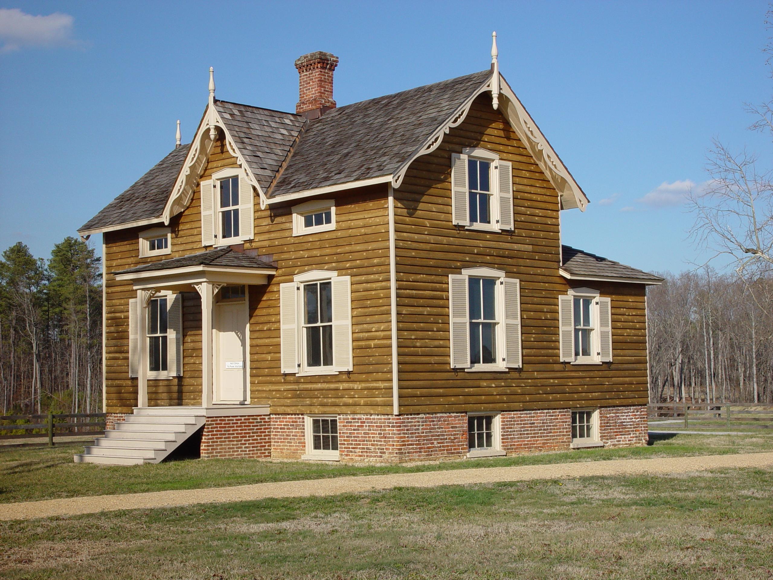 the Hart Farm house